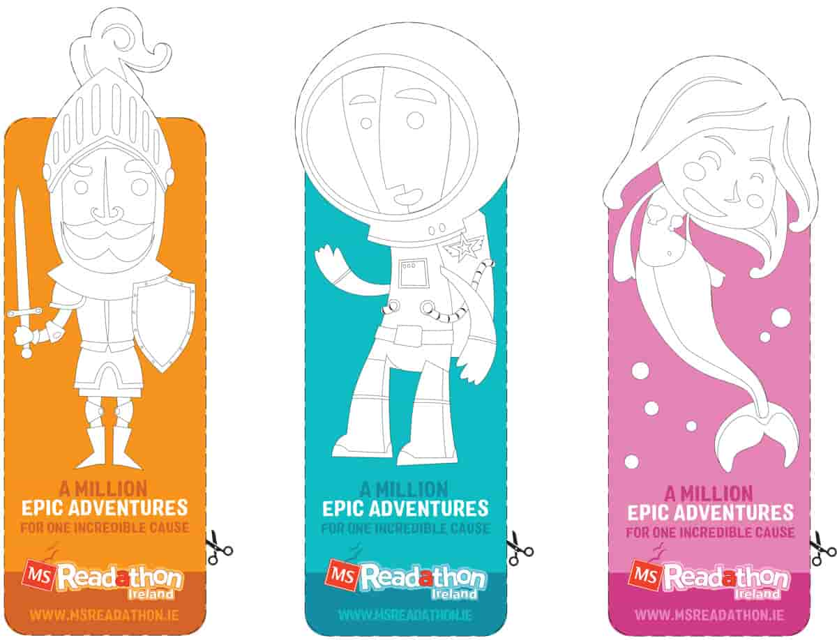 Avatar Bookmarks to Cut Out and Colour